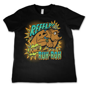 Officially Licensed Scooby Doo- Scooby Doo Reeelp Kids T-Shirt Age 3-12 Years
