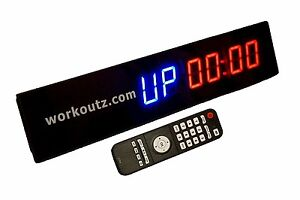 Workoutz programmable mini interval timer with remote mma tabata fgb