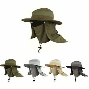 Wide-Brim-Neck-Sport-Cap-Sun-Hiking-Sun-Protection-Hat-Flap-Fishing-Outdoor