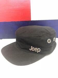 Details about Black Canvas Corduroy Top JEEP Brand 5 Panel Strapback  Conductor Dad Hat Cap 09fc61fe0c5