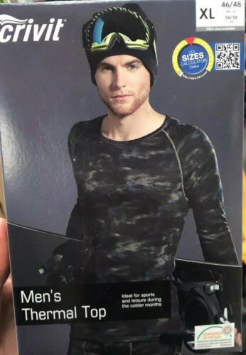 Crivit Mens Performance Thermal Top Size Available XL