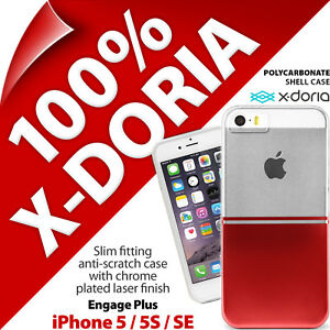 X-Doria 'Engage Plus' Case Hard Clip On Slim Case for Apple iPhone 5 / 5S / SE