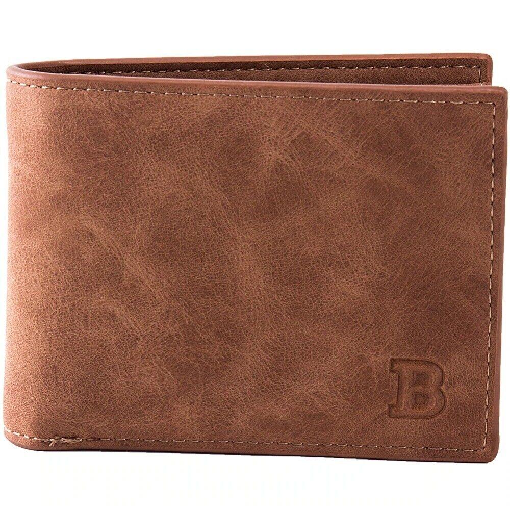 2021 Men Wallets Mens Wallet with Coin Bag Zipper Small Money Purses New
