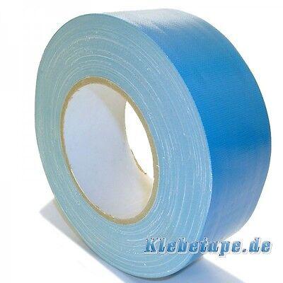 Pool Tape Blue 50m x 50mm Gewebeband wasserdicht Natur Kautschuk Klebstoff
