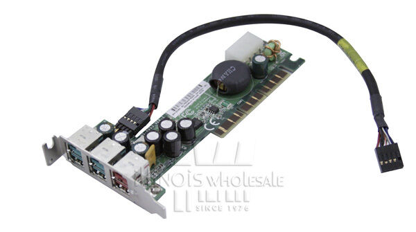 LOT OF 10, HP Powered USB AGP Cards for RP5000, PN: 325201-001