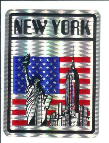 Decal Rare New York City USA Vintage 80/'s Sticker
