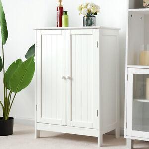 Details Zu Badezimmerschrank Kommode Badschrank Sideboard Schrank Weiß Küchenschrank Holz