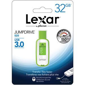 Lexar 32GB JumpDrive S25 High Speed USB 3.0 Pendrive