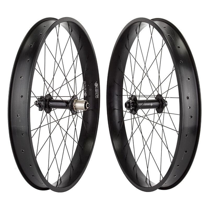 WM Wheels 26x4.0 559x57 Or8 Dat-pro65 Bk 32 Or8 Fb1100 15mm 8-10scas 6b Seal bk