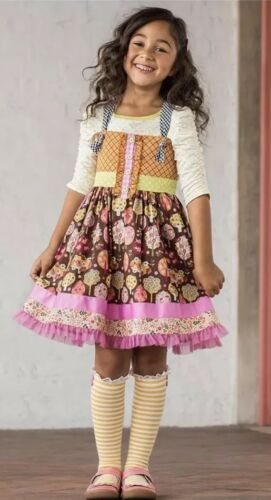 NWT Matilda Jane Size 6 Spinning with Joy Knot Dress Make Believe NEW IN PACKAGE