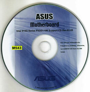 Asus P5GD1 PRO Intel INF chipset Update
