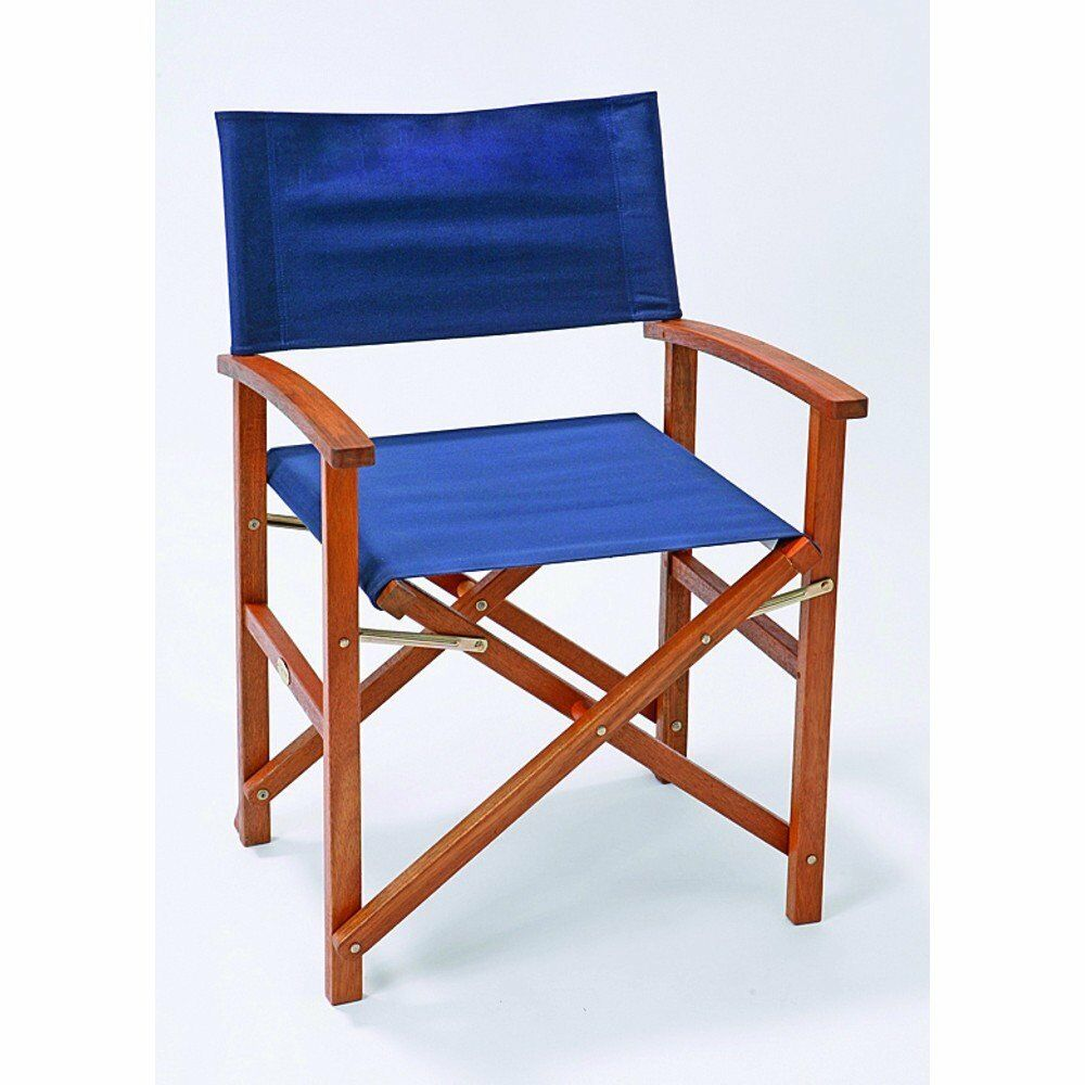 Director's chair chair Director's for camping and sailing, 100% cotton (85 x 15 x 50 cm) ca497c
