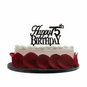 Groovy Minhero Lee Happy 75Th Birthday Cake Topper 75Th Birthday Party Funny Birthday Cards Online Alyptdamsfinfo