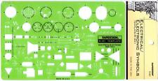 Berol Rapidesign Template - Electrical / Electronic Symbols - R-301