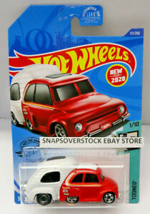 Hot Wheels Tooned Series RV Red White Tinted Windows HW ROAD TRIPPIN/'