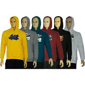 Puma Herren Sweatshirt Pullover Kapuzenpullover Hoodie Langarm Kapuze Unifarben
