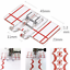Useful-Plastic-Parallel-Stitch-Foot-Presser-For-Brother-Domestic-Sewing-Machine thumbnail 1