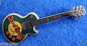 Las-Vegas-Hrc-Verticale-Verde-Gibson-Les-Paul-Chitarra-Rigida-Rock-Cafe-Spilla