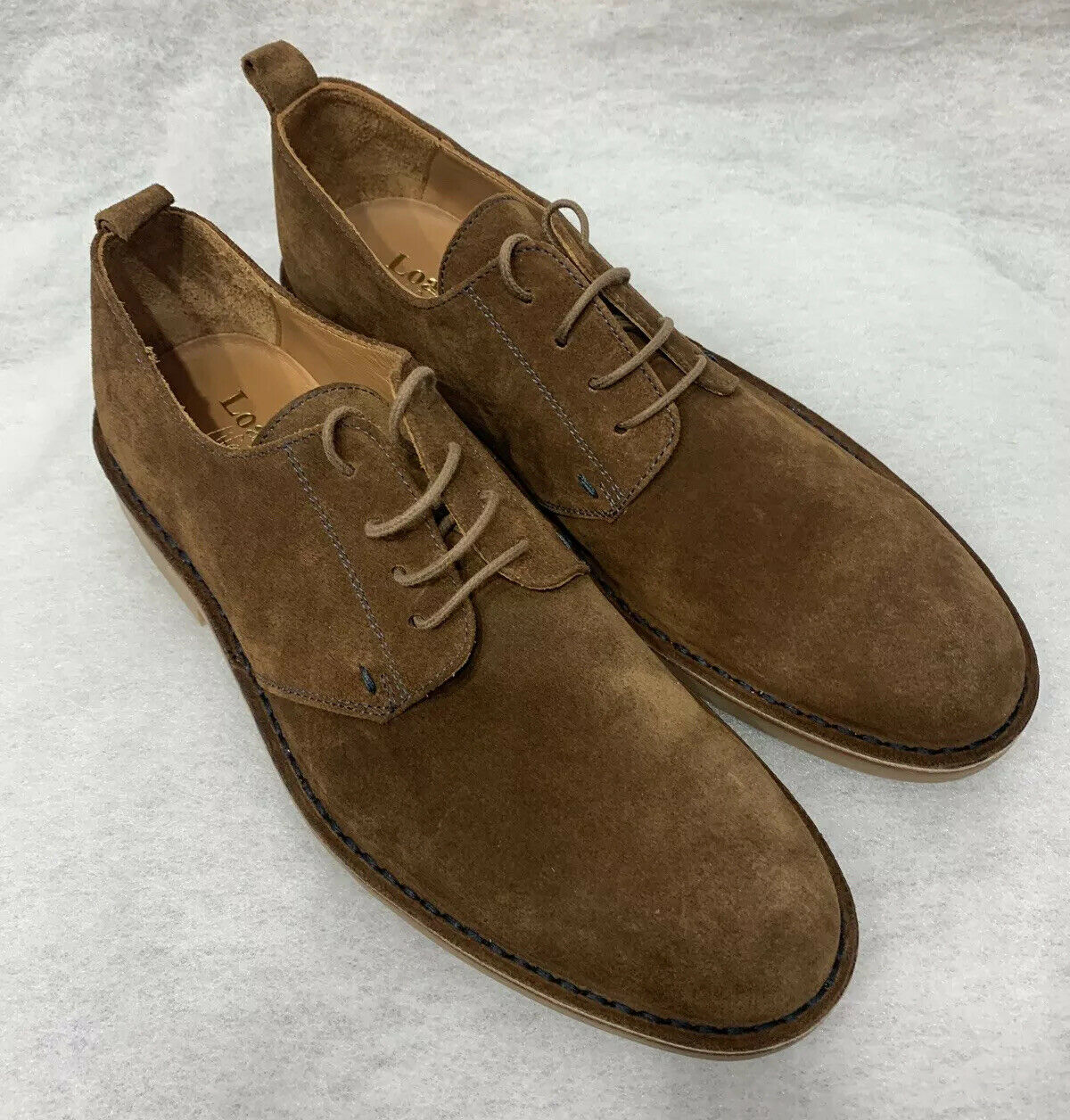Mens Loake Mojave Brown Suede Size 7.5F Sale Price
