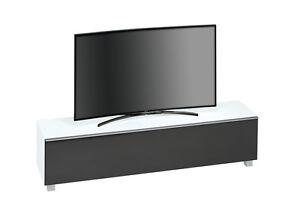 Lowboard 180 Cm Breit : maja 7738 soundboard tv lowboard soundconcept in wei glas ~ Watch28wear.com Haus und Dekorationen