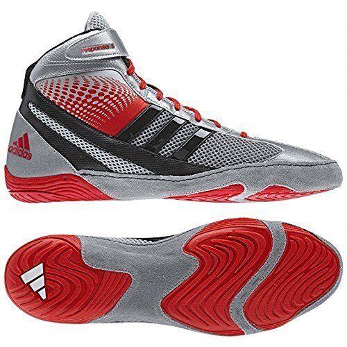 Adidas adi_b00jr_4w3nw risposta 3.1 wrestling scarpe - argento colore. - scegliere sz / colore. argento bd7734