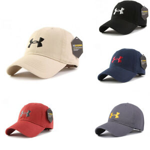 New-Under-Armour-Baseball-Cap-Sport-Adjustable-Mens-Womens-Golf-Hat-One-Size