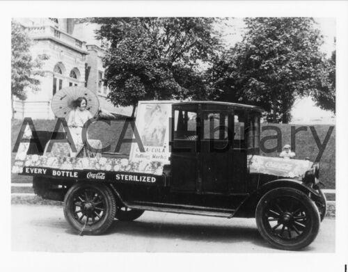 Coke Ref. # 43122 1929 Ford AA Panel Truck Coca-Cola Factory Photo
