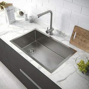 316-Stainless-Steel-710-450-220-commercial-gauge-Under-Top-mount-Kitchen-Sink