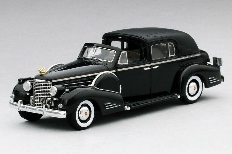 1938 illac Séries 90 V16 Ville Voiture en Noir en 1 43 Echelle par Tsm