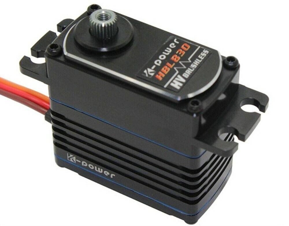 K-Power Tte servo HV brushless digital hbl830 6,0 - 7,4v 4,5 kg 0,05s Titan RPD ®
