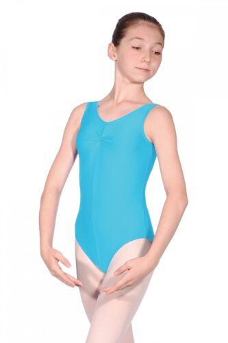 Roch Valley Sleeveless Tank Leotard Sheree Nylon Lycra Dance Gymnastics Brights