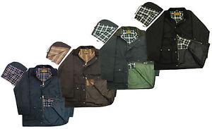 Mens-Premium-British-Unpadded-Wax-Jacket