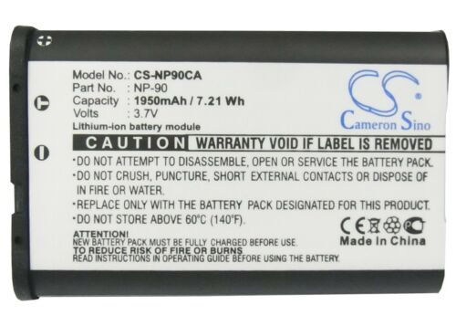 Premium Battery for Casio Exilim EX-H10 Quality Cell NEW