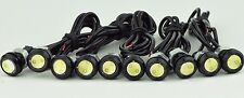 12V 9W 18mm Eagle Eye White Led Light Bulbs Car Tail Backup DRL lights QTY10 USA