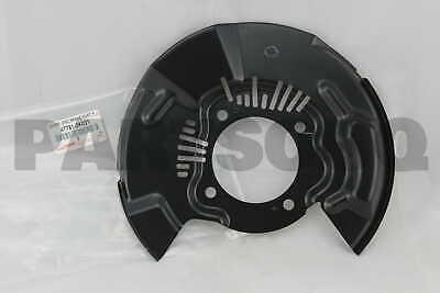 FRONT RH 47781-0K070 477810K070 Genuine Toyota COVER DISC BRAKE DUST