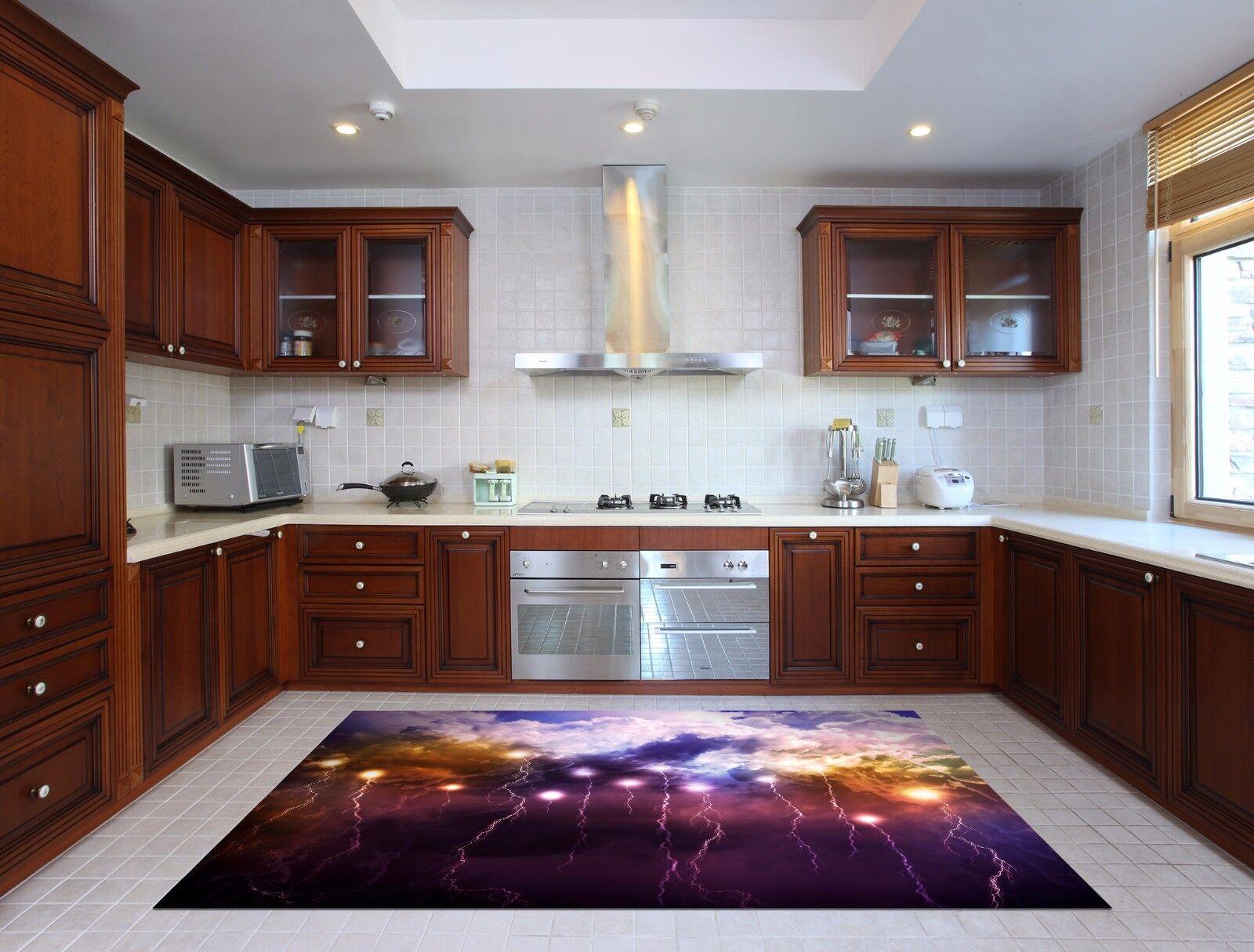 3D Lightning 853 Kitchen Mat Floor Murals Wall Print Wall Deco AJ WALLPAPER UK