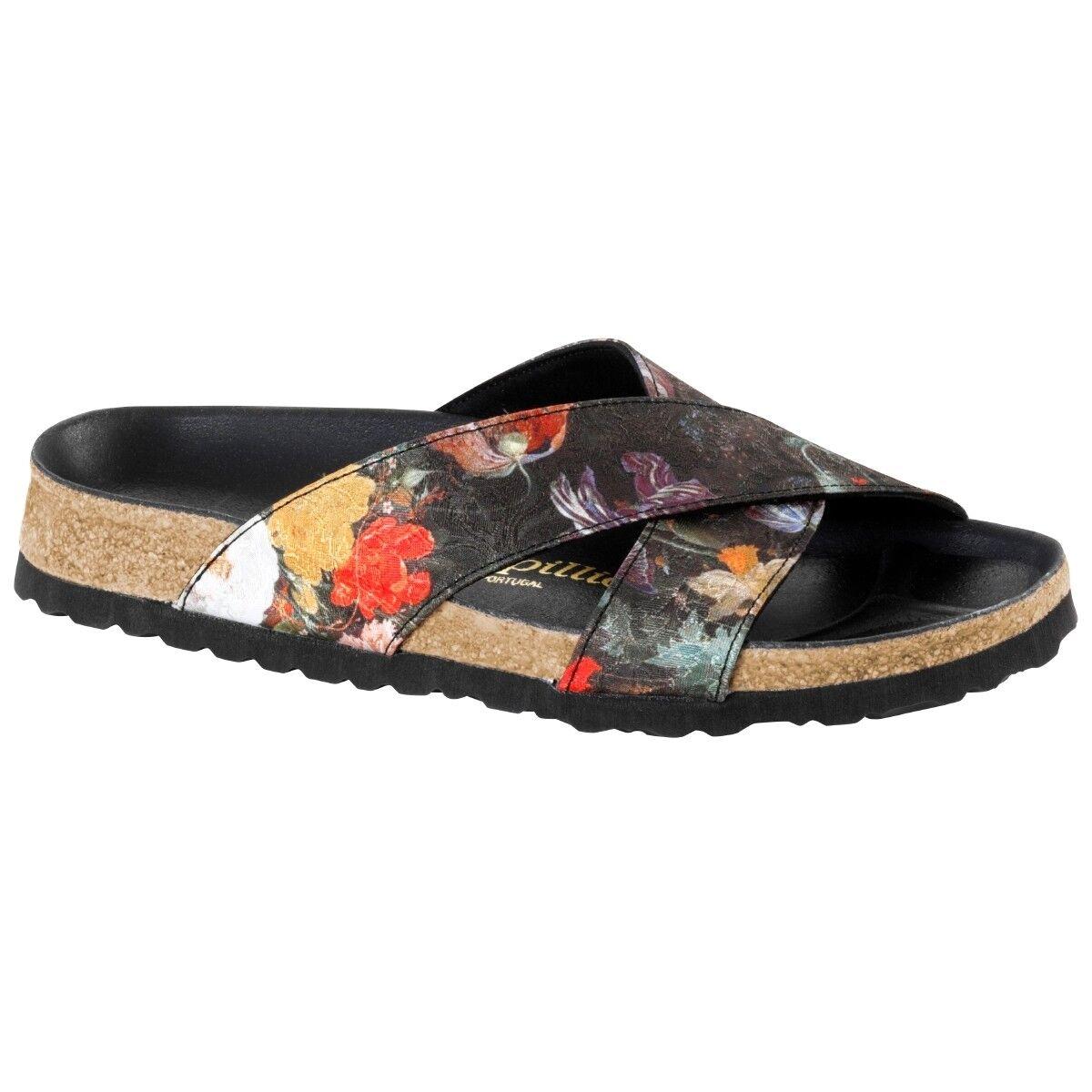 Sandalia textil de Birkenstock Papillio Daytona zapatos floral 1007098 ancho estrecho