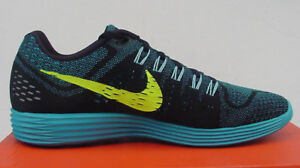 new concept 77ca5 ee7af Image is loading NIB-Nike-Lunartempo-Running-Shoe-705461-007-Blk-