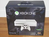 Xbox One Halo Master Chief White Console 500g System Bundle Sealed