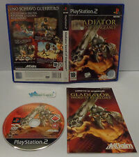 Console Game SONY Playstation 2 PS2 PAL ITALIANO - GLADIATOR SWORD OF VENGEANCE