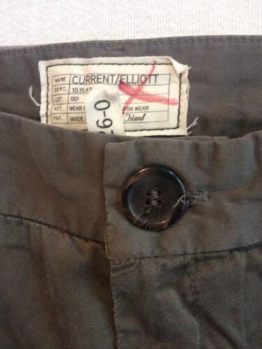 New CURRENT//ELLIOTT Tux Captain Trouser in Fatigue $188