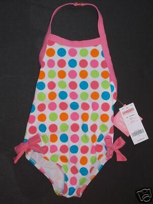 NWT Gymboree Spring Rainbow 18-24 Months Multi-Colored Polka Dot Swimsuit