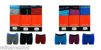 Pack 3 boxers trunks Pierre Cardin 95/%algodón 5/% elastano surtidos ref.324