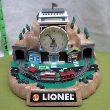 LIONEL Electric Trains clock Mountainside Railroad centennial Emson locomotive