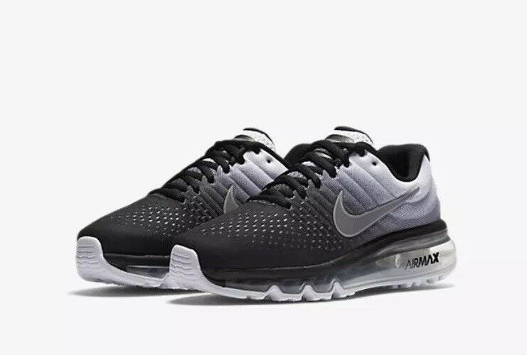 Nike Air Max 2017 GS Youth 851622-003 Black White White White UK 3.5 EU 36 US 4Y New 8acd9c