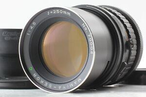 Nuovo-di-zecca-CON-CAPPUCCIO-Mamiya-Sekor-C-250mm-F4-5-Lente-per-RB67-PRO-S-dal-Giappone-SD