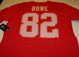Details about DWAYNE BOWE Kansas City Chiefs #82 Nike NFL Football JERSEY T-Shirt New! NWT MED