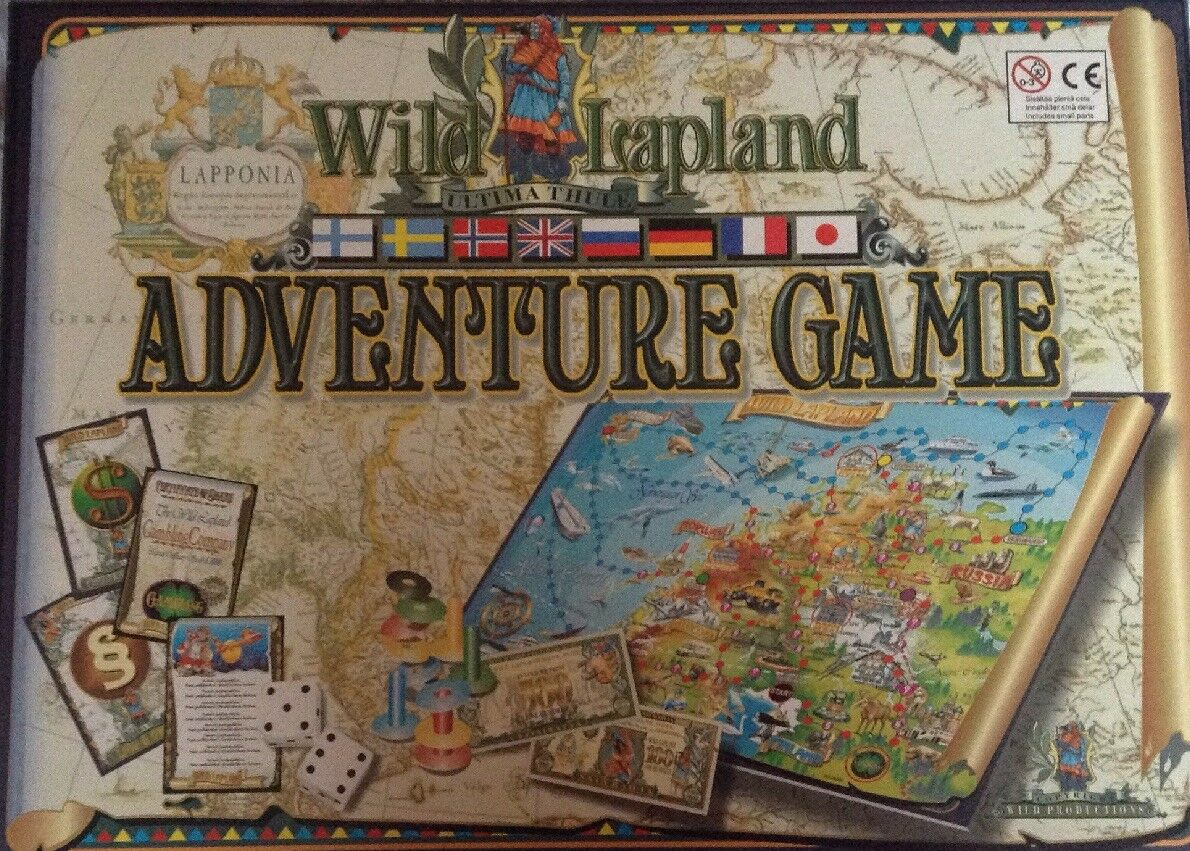 WILD LAPLAND ADVENTURE AND FINANCE BOARDGAME NEW RARE UPTO 6 PLAYERS 3+
