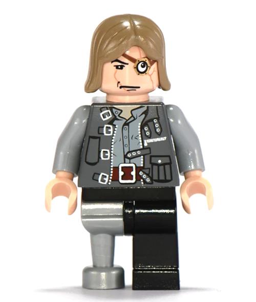 Lego Professor Mad-Eye Moody 4767 Peg Leg Goblet of Fire Harry Potter Minifigure