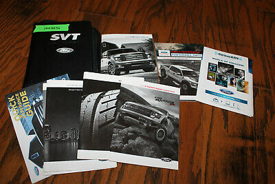2014 Ford F-150 Raptor owners manual with case For2098 | eBay